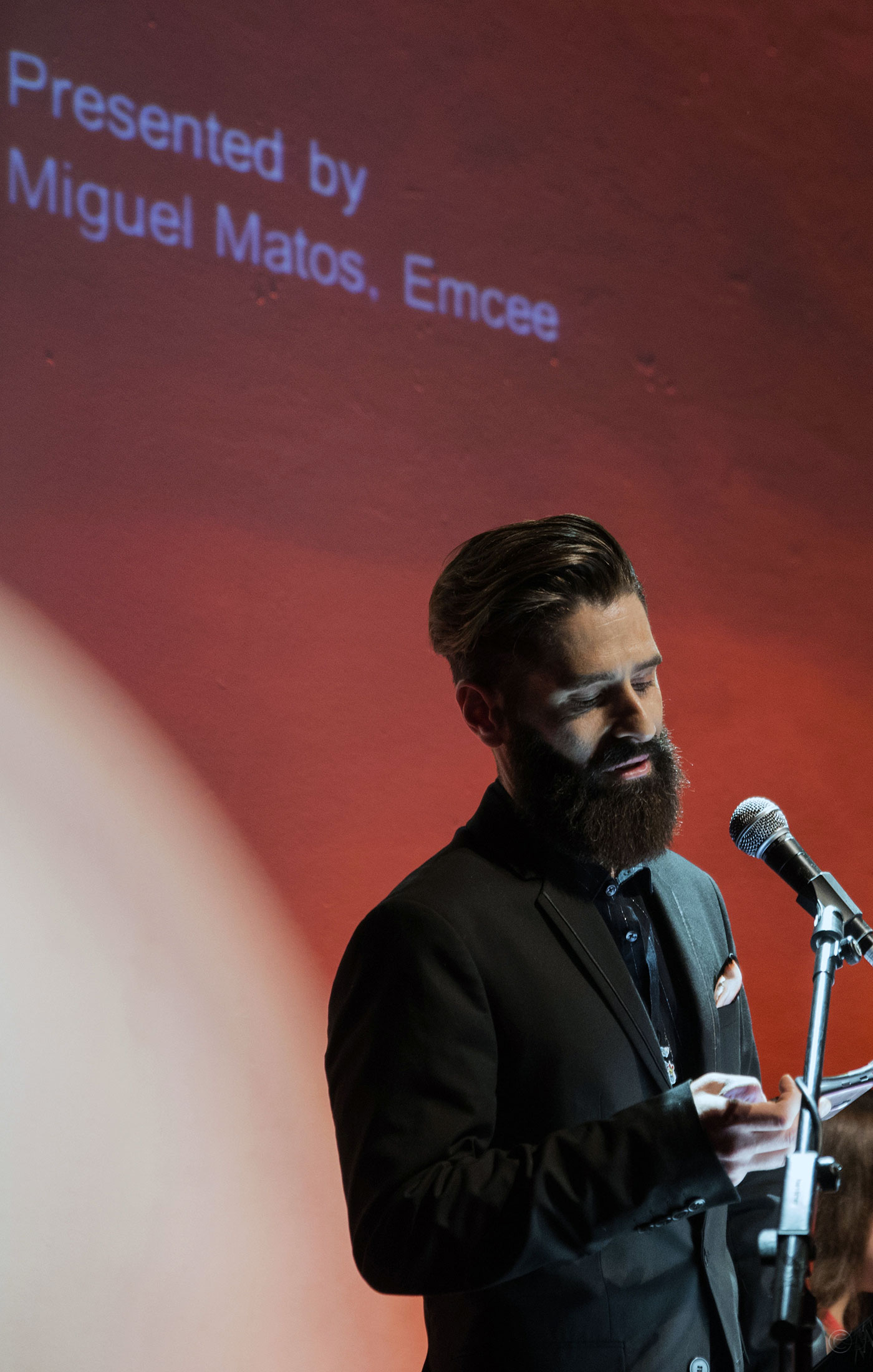 Miguel Matos at The Art and Olfaction Awards, Photo by Marina Chichi