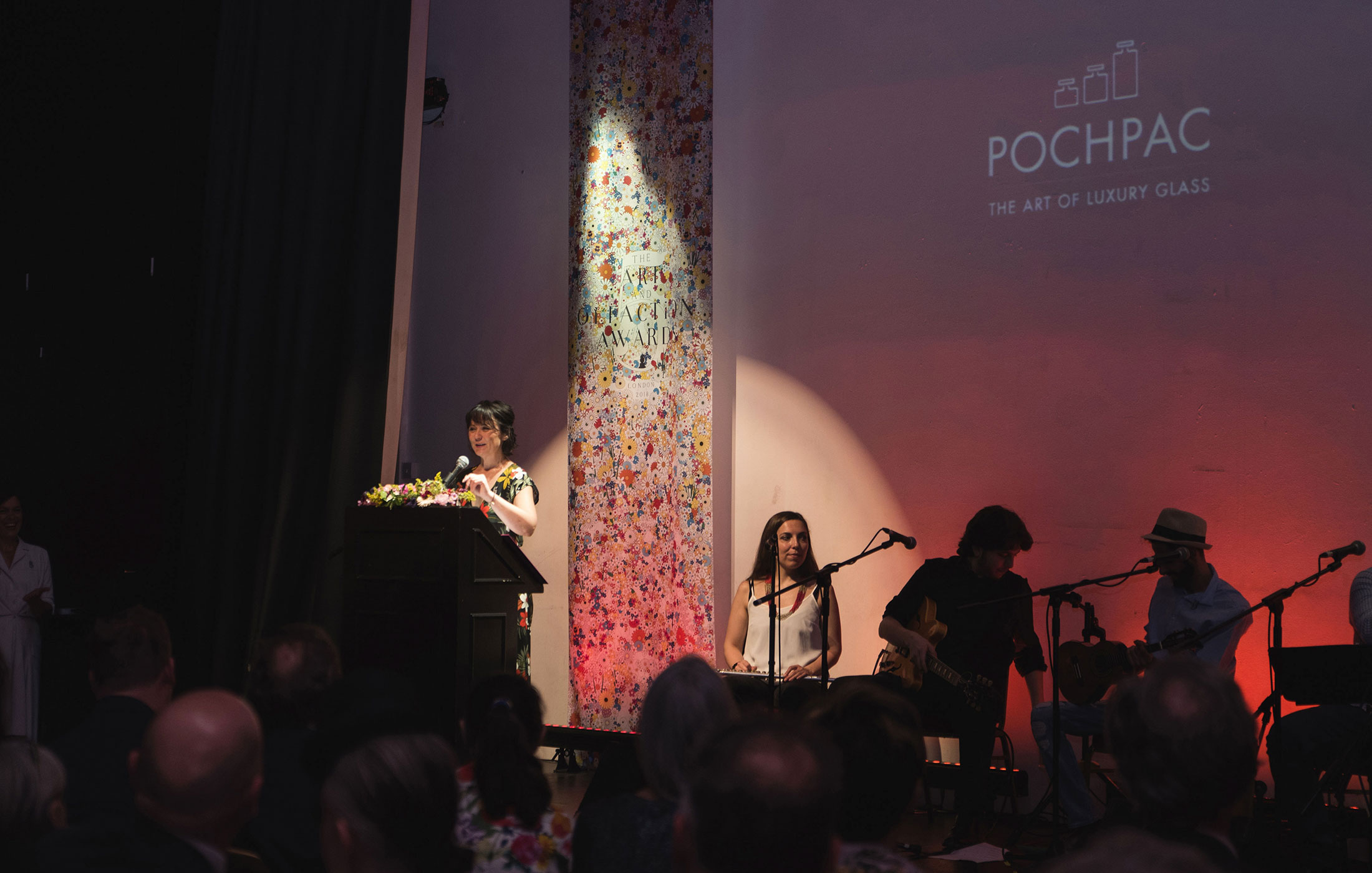 Pochpac at The Art and Olfaction Awards, Photo by Marina Chichi
