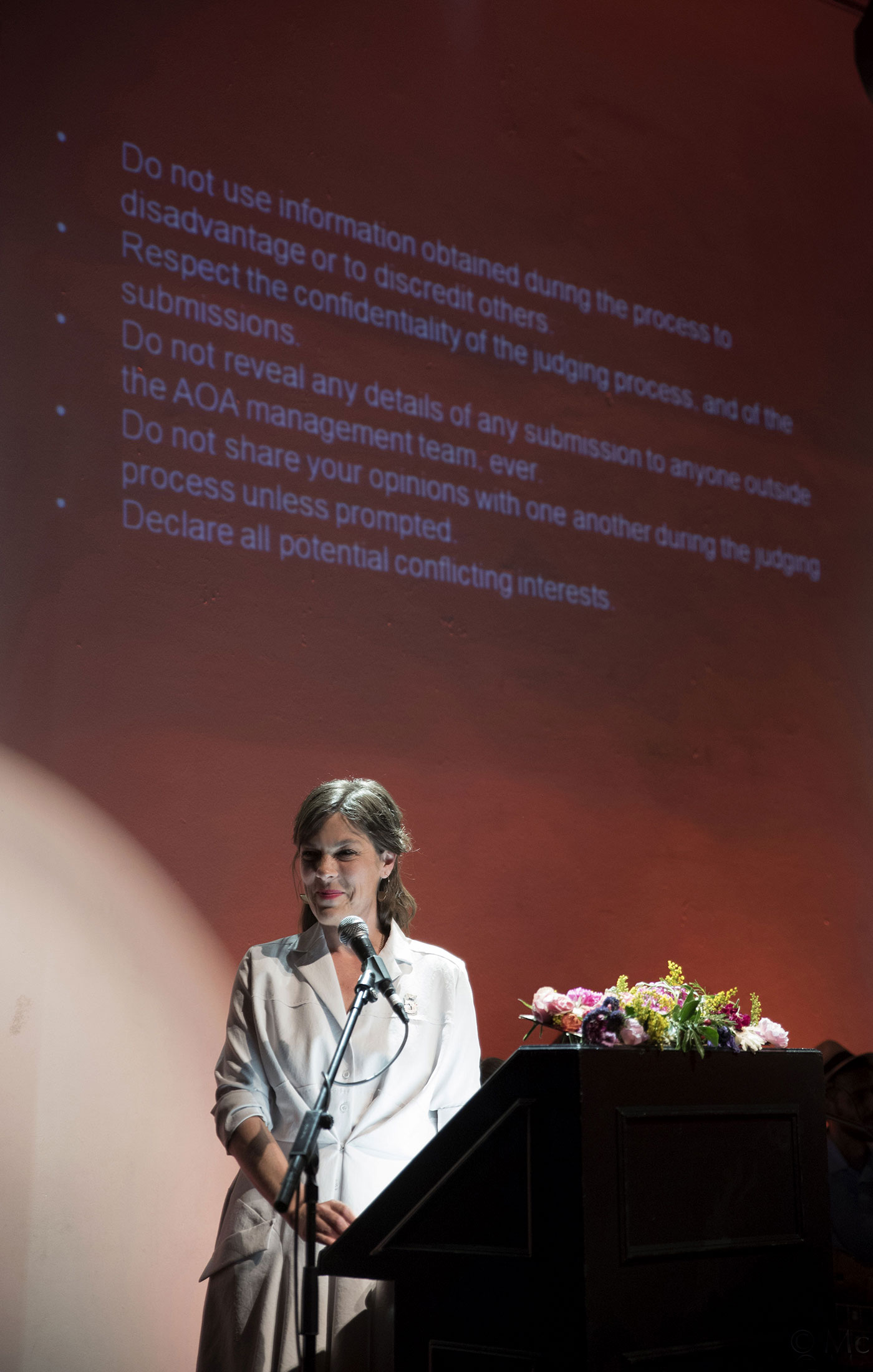 Saskia Wilson-Brown at The Art and Olfaction Awards, Photo by Marina Chichi