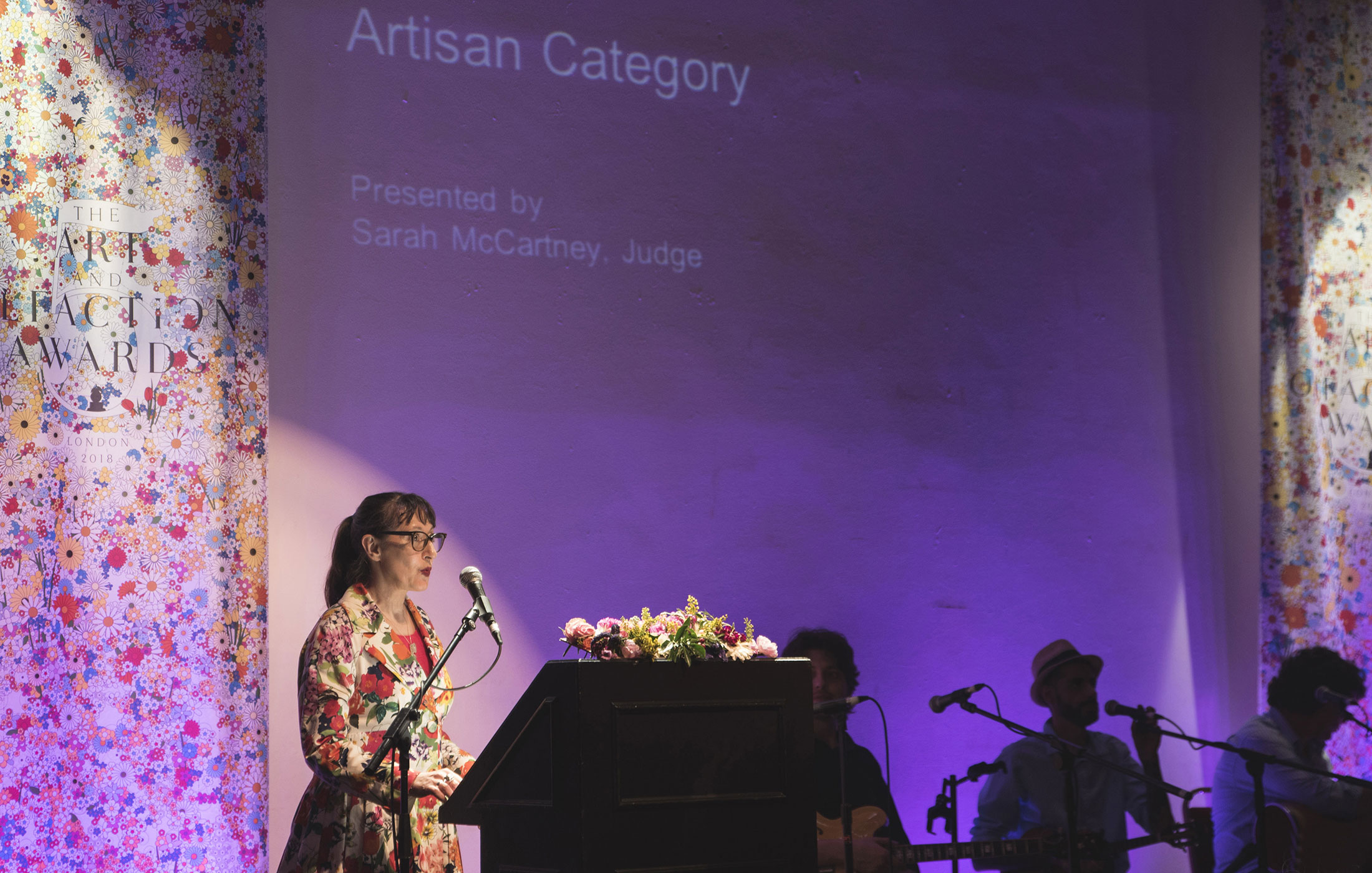 Sarah McCartney at The Art and Olfaction Awards, Photo by Marina Chichi