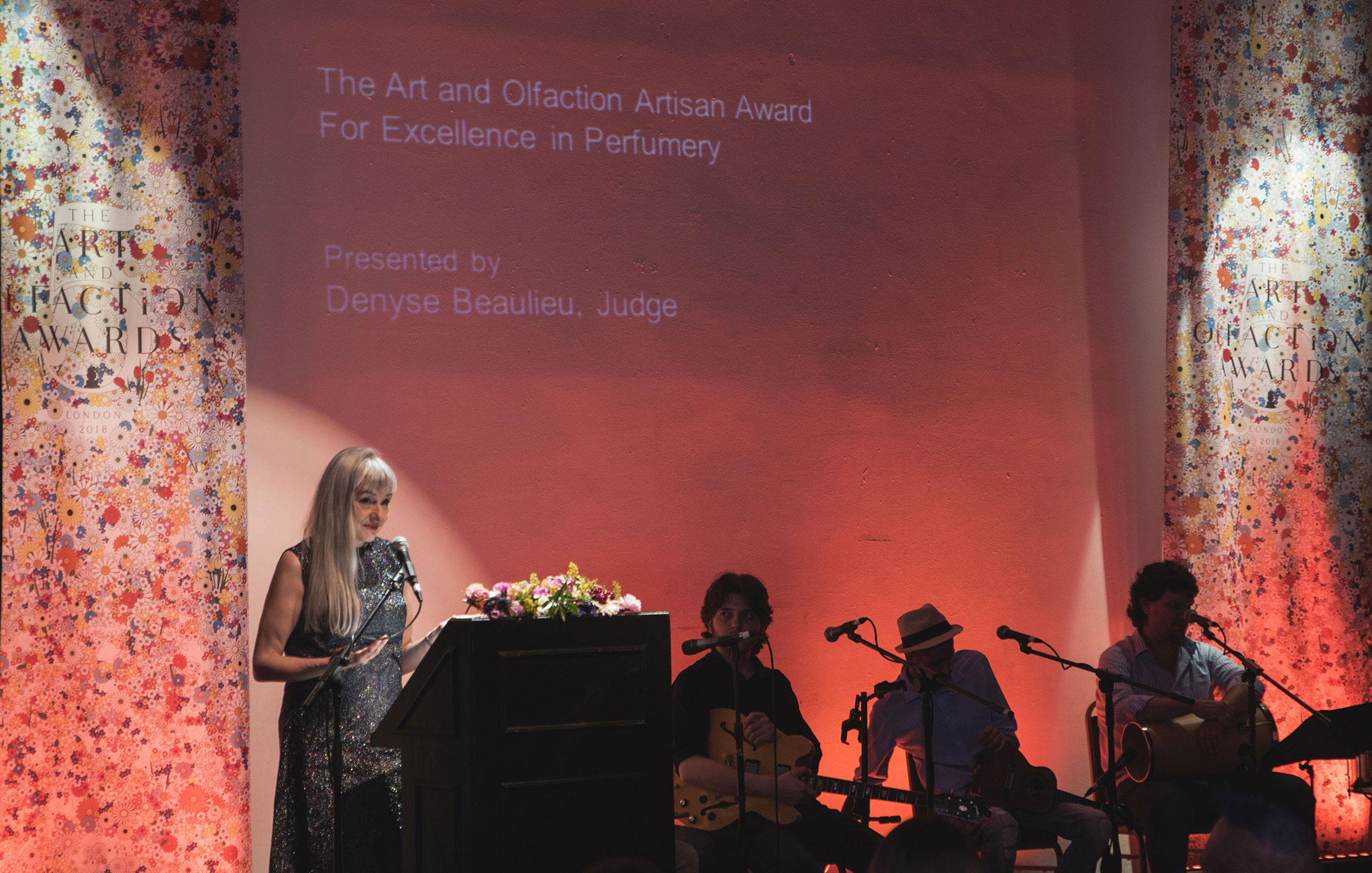 Denyse Beaulieu at The Art and Olfaction Awards, Photo by Marina Chichi