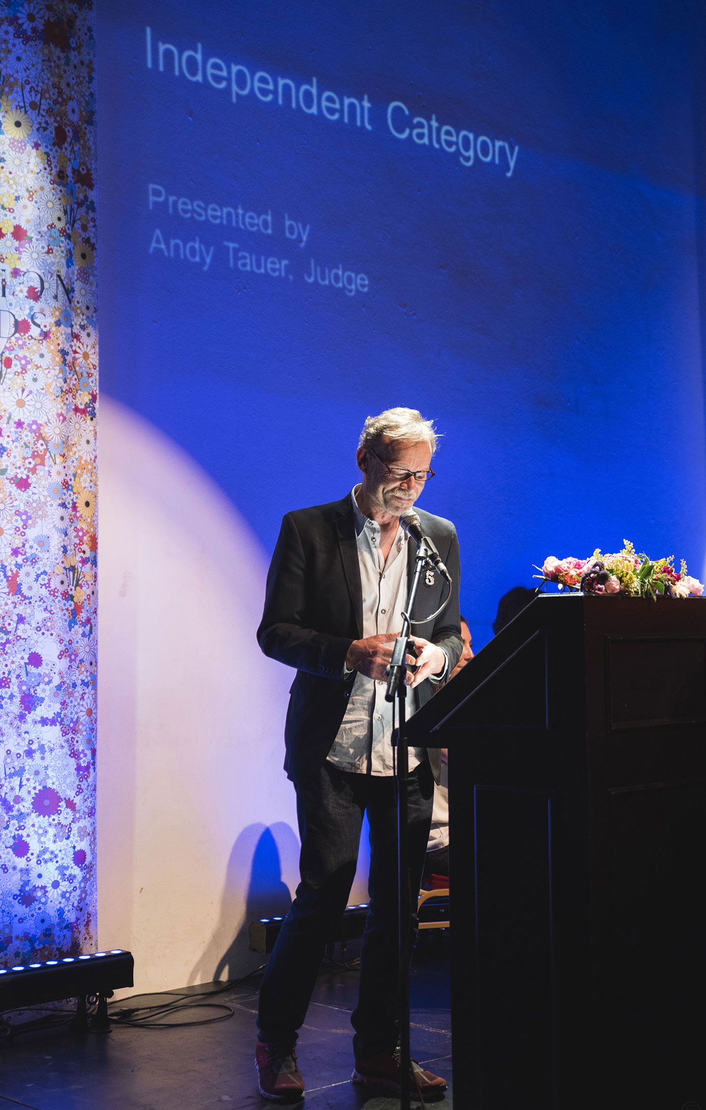 Andy Tauer at The Art and Olfaction Awards, Photo by Marina Chichi