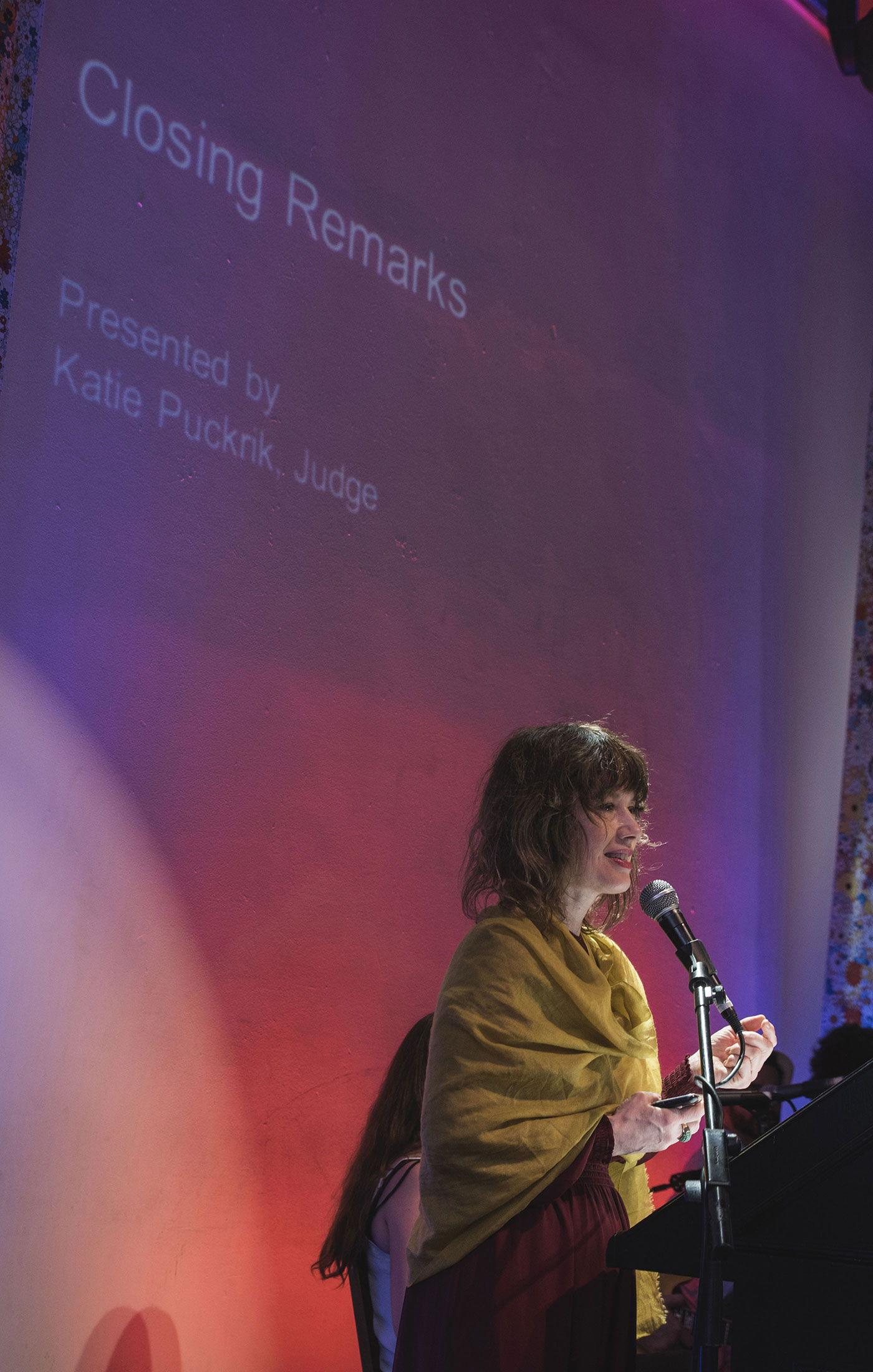 Katie Puckrik at The Art and Olfaction Awards, Photo by Marina Chichi